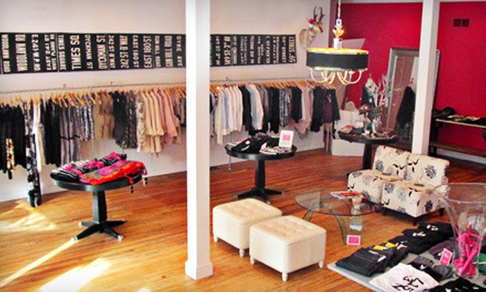 Eye-Candy Clothing - Alexander,Manhattan Square: $25 for $50 Worth of Women's and Men's Apparel and Accessories at Eye-Candy Clothing