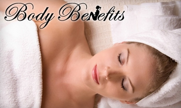 Body Benefits, Inc. - Multiple Locations: $60 for an Exfoliating Body Sugar Scrub with Foot Exfoliation or Therapeutic Seaweed Body Wrap with Head & Neck Massage at Body BeneFits ($150 Value)