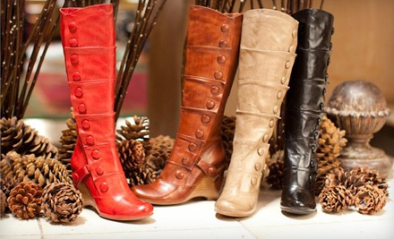 $60 Groupon to Ecy  Shoes n Chic - Ecy  Shoes n Chic in Greenville
