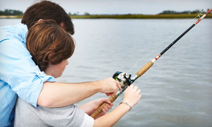 Doublesteal Fishing Guide Service - Matagorda-Sargent: $349 for a Full-Day Fishing Package for Up to Four on Matagorda Bay from Doublesteal Fishing Guide Service ($600 Value)