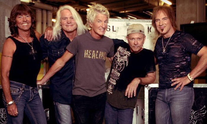The Midwest Rock-n-Roll Express tour with Styx, REO Speedwagon, and Ted Nugent - State Farm Arena: $60 for Styx, REO Speedwagon, and Ted Nugent Show for Two at State Farm Arena in Hidalgo on May 1 (Up to $133.94 Value)