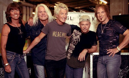 The Midwest Rock-n-Roll Express tour w/ Styx, REO Speedwagon & Ted Nugent on 5/1 at 6:40PM: Sections 119-20 - The Midwest Rock-n-Roll Express tour with Styx, REO Speedwagon, and Ted Nugent in Hidalgo