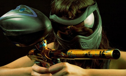 Admission, Marker, and 100 Paintballs for One (a $50 value) - Richmond Indoor Paintball in Richmond