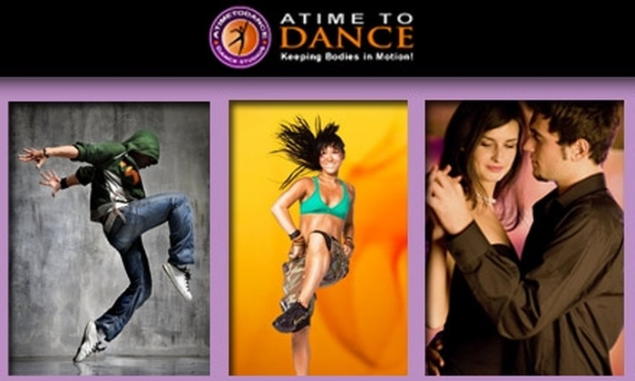 A Time To Dance Studios - San Diego: $22 for Four Dance Classes at A Time To Dance Studios ($45 Value)