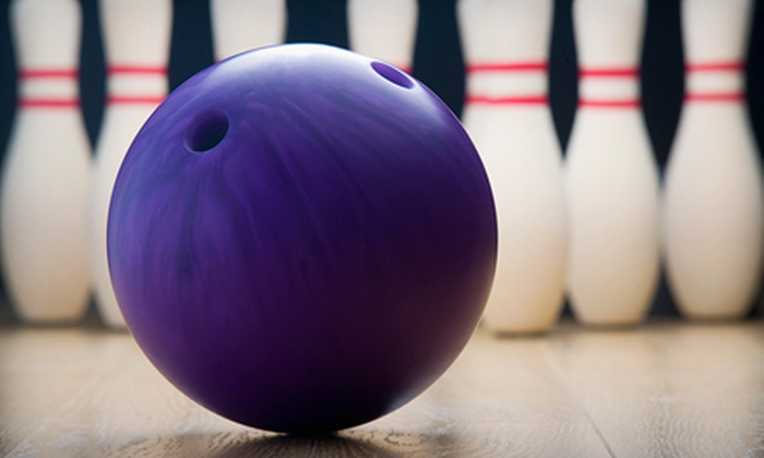 Midway Lanes - Chapel Hill: Bowling Outing for Four at Midway Lanes. Two Options Available.