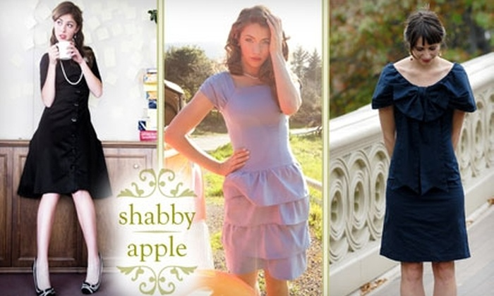 Shabby Apple - San Diego: $40 for $100 Worth of Vintage-Inspired Clothing and Accessories from Shabby Apple