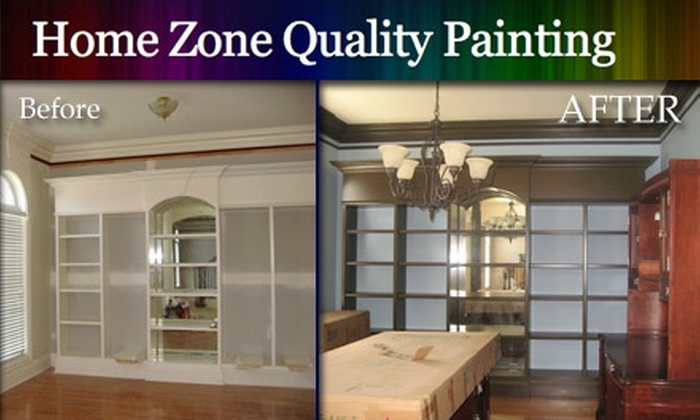 Home Zone - Nashville: $85 Paint Job per Room from Home Zone Quality Painting