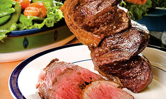Brazikat - Saint Louis: Brazilian Steak Dinner or Vegetarian Feast for Two or Four at Brazikat (Up to 53% Off)