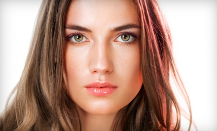 Haircut, Color, and Brazilian Blowout Services at Salon Centre (Up to 71% Off)