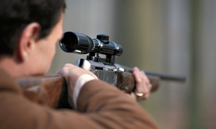 Handgun and Rifle Range Time for One, Two, or Four at Omega Ranch (Up to 51% Off)