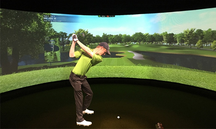 NuGolf - Sanctuary: One or Two Hours of Golf Simulation for Up to Four at NuGolf Studios (Up to 47% Off)