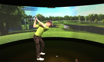 One or Two Hours of Golf Simulation for Up to Four at NuGolf Studios (Up to 50% Off)