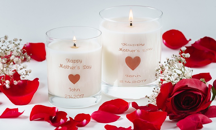 personalized candles custom wick groupon