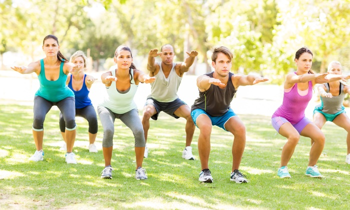 Healthy 10 Fitness - Multiple Locations: 10 Boot-Camp Classes at Healthy 10 Fitness (65% Off)