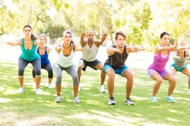 Healthy 10 Fitness: 10 Boot-Camp Classes at Healthy 10 Fitness (65% Off)