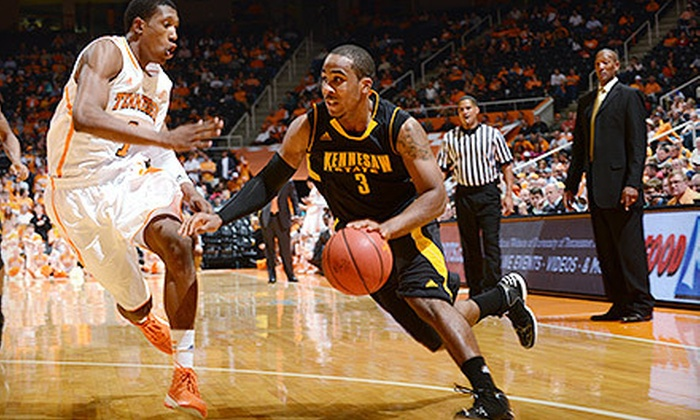 Kennesaw State Men's Basketball - Acworth-Kennesaw: $16 to See Kennesaw State Owls Men's Basketball Game for Two at Convocation Center ($32 Value). Five Games Available.