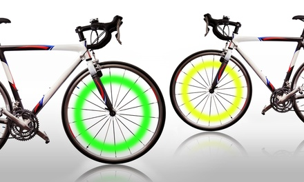 Green and Yellow Bike Lights from $8.99-$12.99