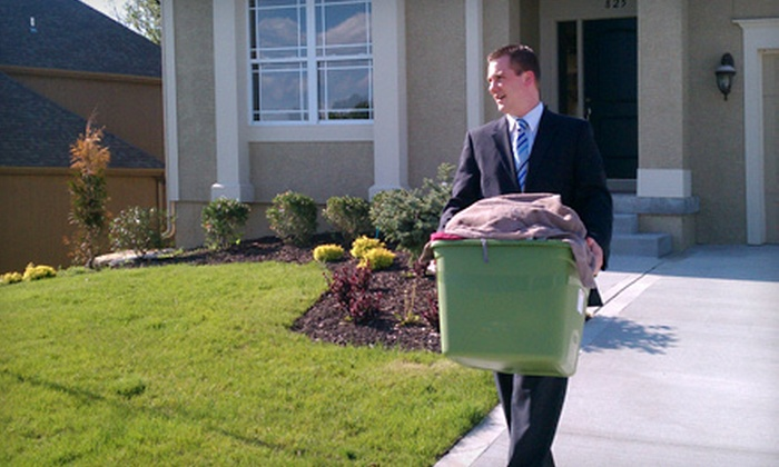 The Mobile Butler - Kansas City: $15 for $30 Worth of Laundry Services with Pickup and Delivery from The Mobile Butler