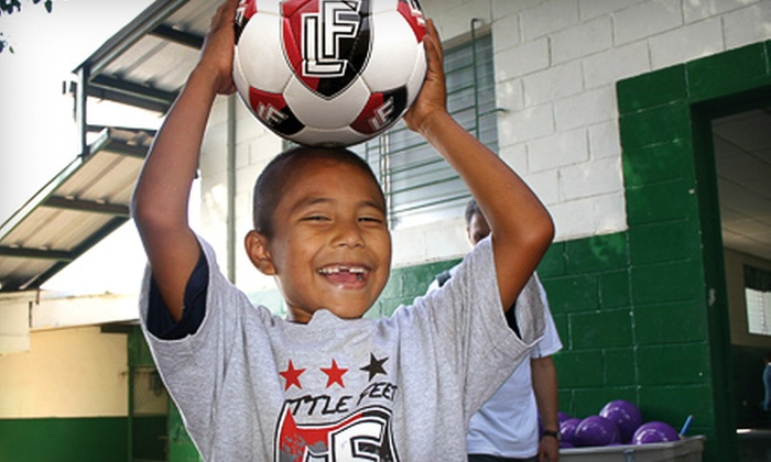 Little Feet Foundation - Seattle: If 50 People Donate $10, Then Little Feet Foundation Can Provide 50 Soccer Balls to Seattle Public Schools