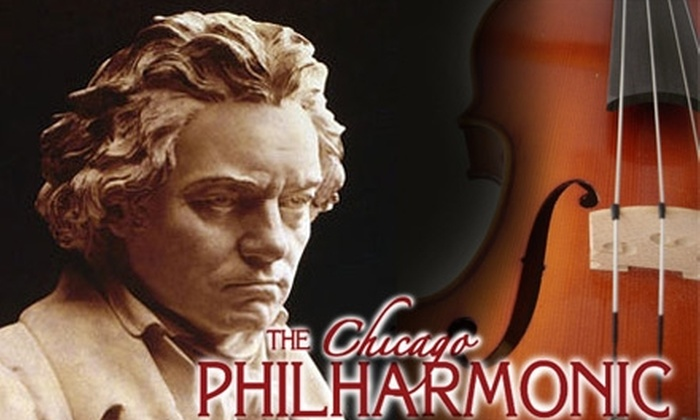 Chicago Philharmonic Orchestra - Evanston: $35 for One Ticket to Blockbuster Beethoven's Ninth! by the Chicago Philharmonic ($70 Value)