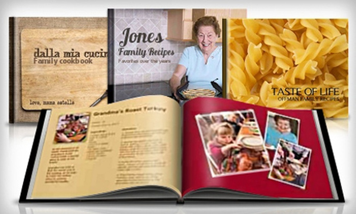 Picaboo: One or Two Custom Hardcover Cookbooks from Picaboo (60% Off)