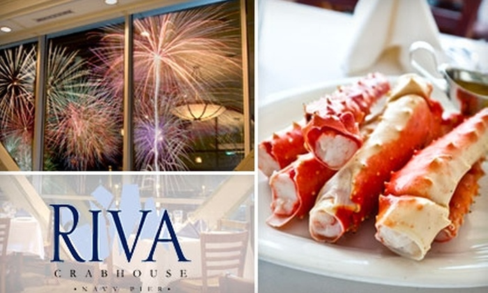 Riva Crabhouse - Chicago: $30 for $60 Worth of Seafood, Steaks, and More at Riva Crabhouse