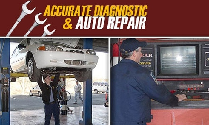 Accurate Diagnostics  - Paradise Valley: $65 for Car Care Club Card at Accurate Diagnostic (Includes 4 Free Oil Changes and More)