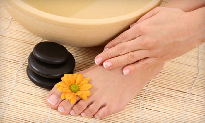 Hush Salon & Spa - DePaul: One or Three No-Chip Manicures and Regular Pedicures at Hush Salon & Spa (Up to 53% Off)