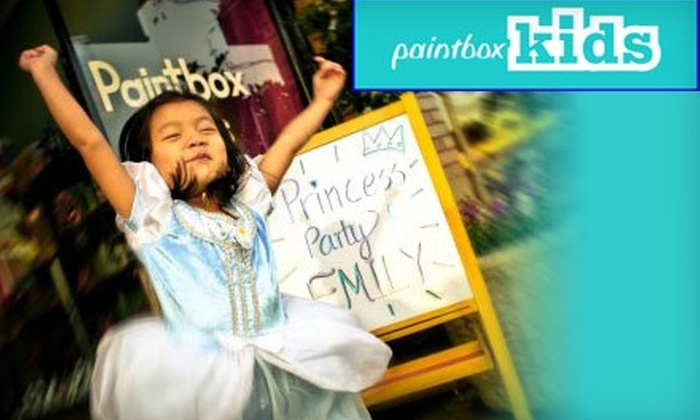 Paintbox Kids - East Central: $8 for Two Hours of Open Studio Time at Paintbox Kids in Pasadena ($16 Value)