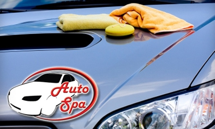 Indy Auto Spa - Carmel: Cleaning, Waxing, or Detailing Auto Services at Indy Auto Spa in Carmel. Choose from Three Options.