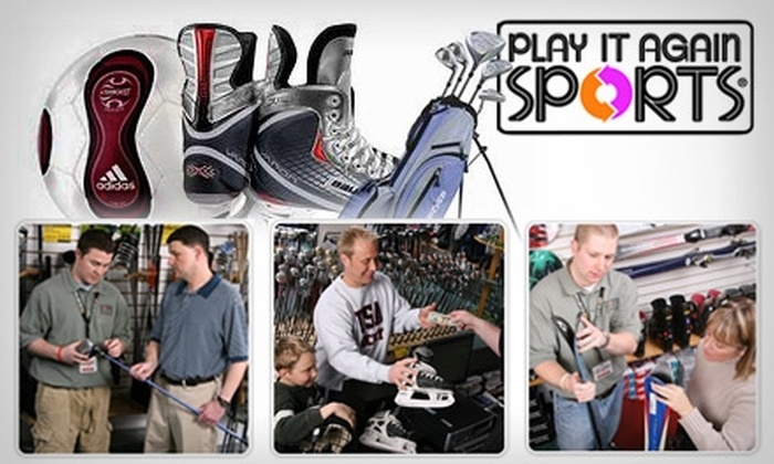 Play it Again Sports - Multiple Locations: $10 for $25 Worth of New or Gently Used Sporting Goods and More at Play It Again Sports. Choose from 10 Detroit-Area Locations.