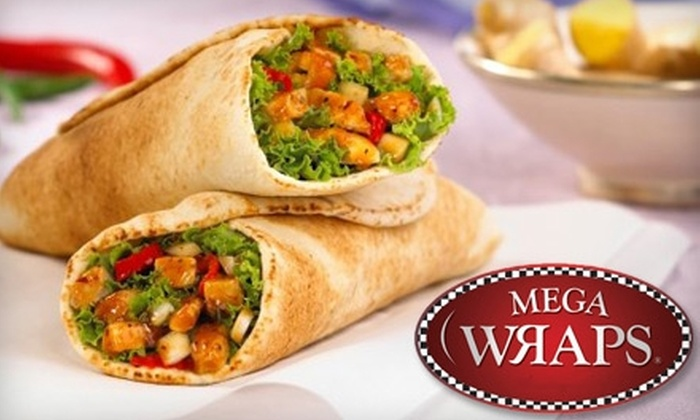 Mega Wraps - St. James Industrial: $5 for $10 Worth of Wraps, Salads, and Beverages at Mega Wraps