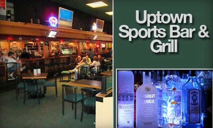 Uptown Sports Bar & Grill - Uptown: $15 for $35 Worth of Pub Grub and Libations at Uptown Sports Bar & Grill