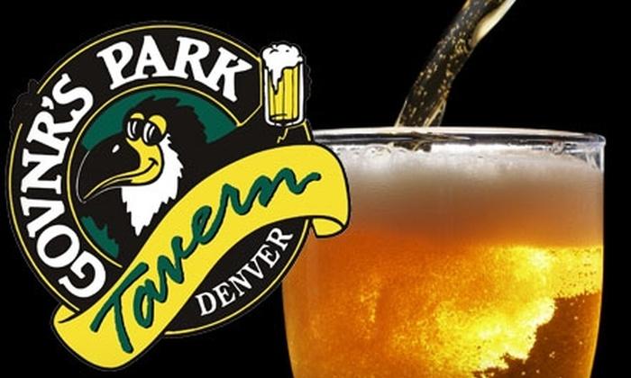 Govnr's Park - Speer: $26 Beer for a Year Membership at Govnr's Park (Up to $2,105 Value)