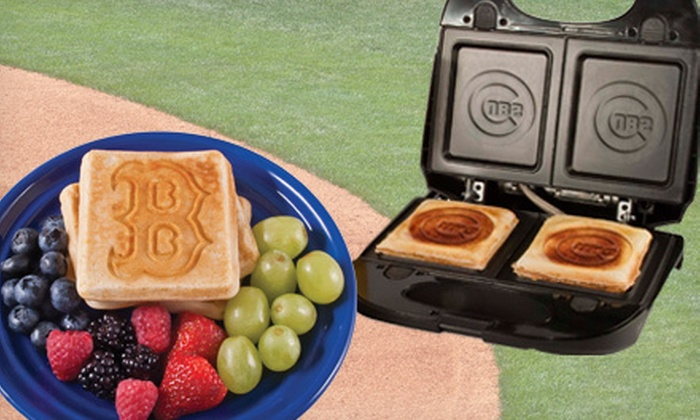 MLB Sandwich and Waffle Grill: $29 for an MLB Sandwich and Waffle Grill ($49.99 Value). Choose from 17 Teams.