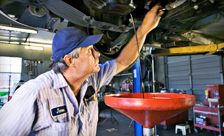1 Oil Change (a $33.59 value) - All Tune and Lube in Mountain View
