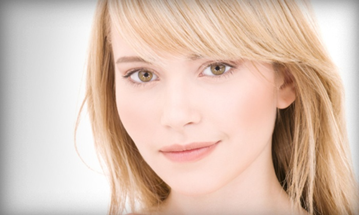 Vivienne Medi Spas - Southam: Glycolic Peel and Light Therapy or Glycolic Peel, Light Therapy, and Facial at Vivienne Medi Spas in Hamilton