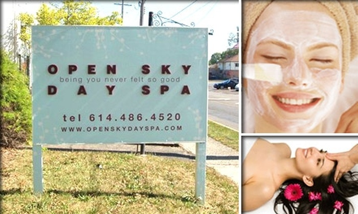 Open Sky Day Spa - Grandview Heights: $40 for a One-Hour Facial at Open Sky Day Spa ($70 Value)