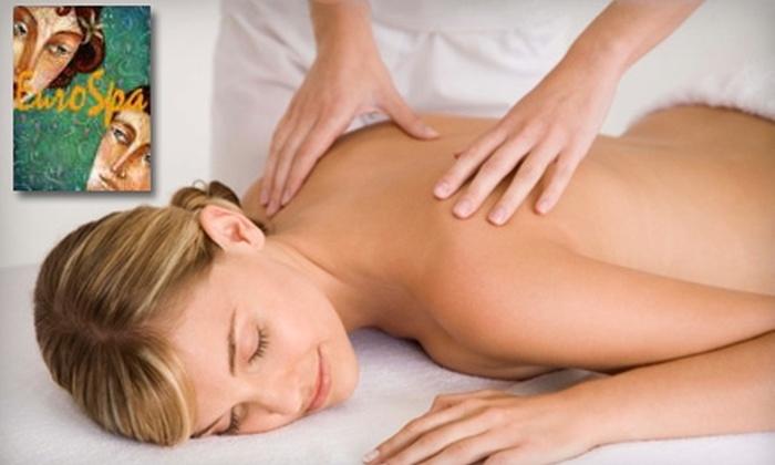 EuroSpa by Veronika - Cheektowaga: $100 for Lava Shell Massage Package or BioDynamic Facial Package at EuroSpa by Veronika (Up to $215 Value)