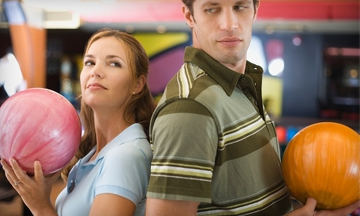 Plaza Lanes - Plymouth: $5 for Two Bowling Games and One Shoe Rental at Plaza Lanes in Plymouth (Up to $10 Value)