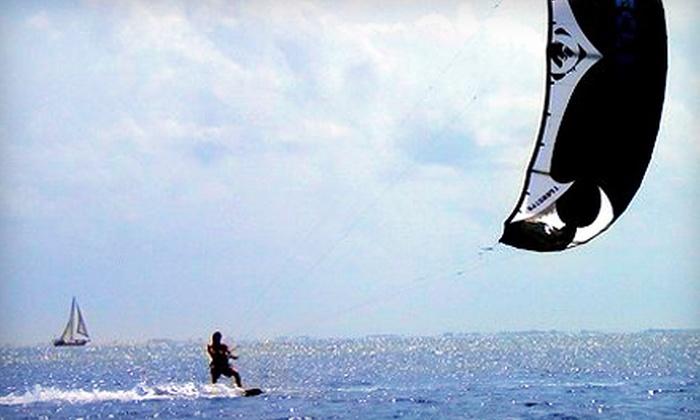 Kiss The Sky Kiteboarding - Tierra Verde: $149 for a Land and Water Lesson at Kiss The Sky Kiteboarding in Tierra Verde ($300 Value)