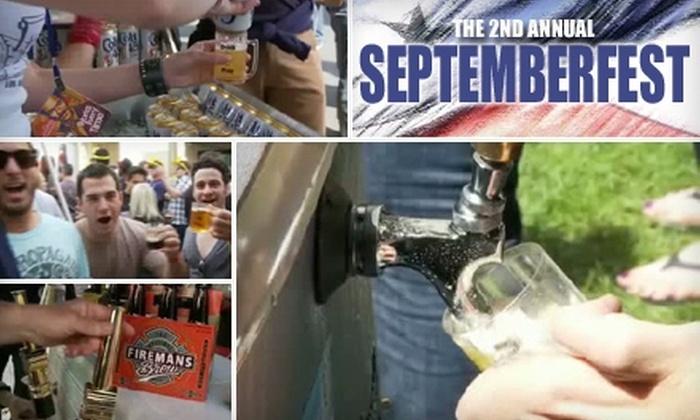 Septemberfest - Washington Culver: $25 for One Admission and Unlimited Beer Sampling at Septemberfest on Saturday, September 25 ($50 Value)