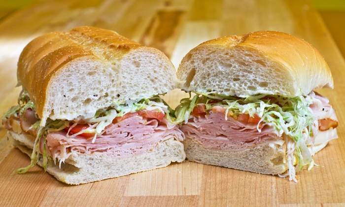 Mr Subs - Multiple Locations: 5 or 10 8-Inch Subs at Mr Subs (51% Off)