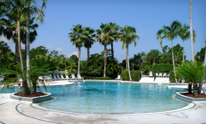 Castle Pines Golf Villas - St. Lucie West: $99 for a Two-Night Stay for Up to Four in a One-Bedroom Villa at Castle Pines Golf Villas in Florida (Up to $230 Value)