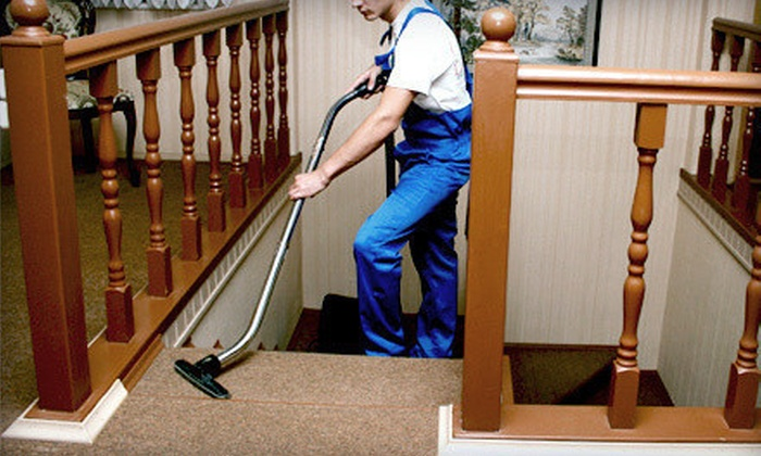 Delisle Extreme Steam - Palm Beach: Steam Cleaning for Three Rooms of Carpet or Sofa or Loveseat from Delisle Extreme Steam (Up to 69% Off)