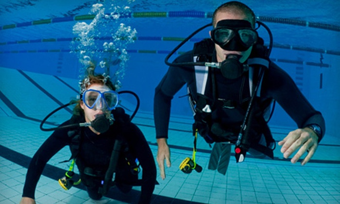 The Dive Center - College Park: Discover Scuba Diving Class for One or Two Plus $30 Off Open-Water Certification at The Dive Station (Up to 52% Off)