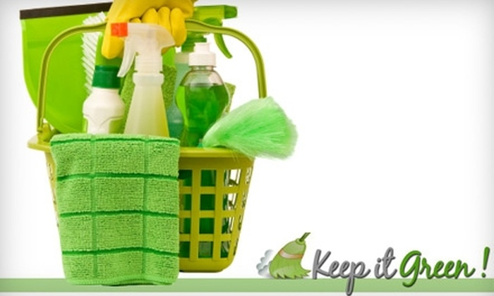 Keep It Green Maids - Spring Branch West: $99 for Three Hours of Eco-Friendly Cleaning at Keep It Green Maids ($225 Value)