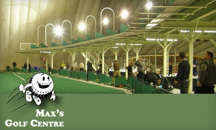 Max's Golf Centre - Waterloo: $7 For Admission For Two to a Round of 18-Hole Mini Golf or $13 for 60 Minutes of Dome Golf Practice at Max's Golf Centre