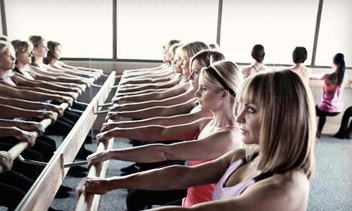 Pure Barre - Old Pasadena: Two or Four Barre Fitness Classes at Pure Barre in Pasadena (Up to 61% Off)