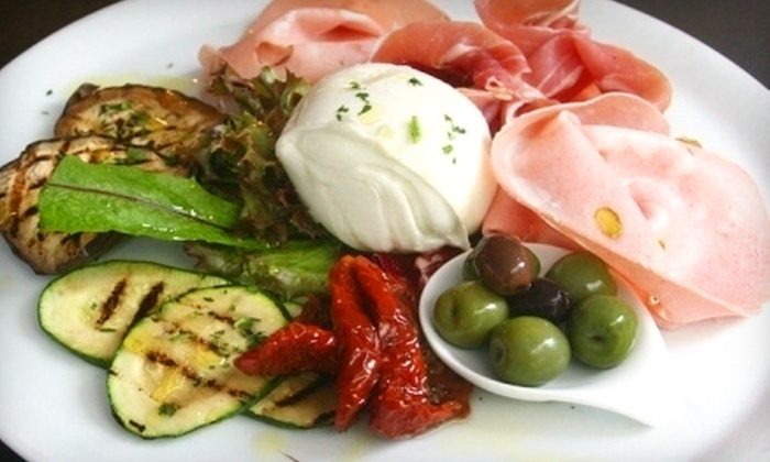 Fratelli La Bufala - South Pointe: Three-Course Italian Meal with Appetizers, Entrees, and Dessert for Two, Four, or Six at Fratelli La Bufala in Miami Beach